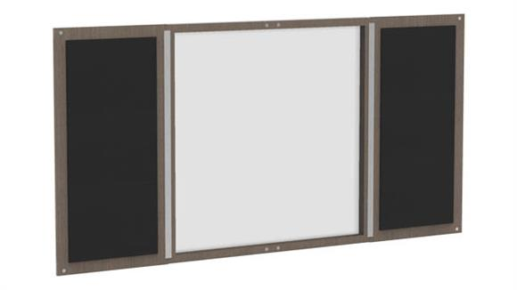 White Boards & Marker Boards Forward Furniture Presentation Board Wall Cabinet