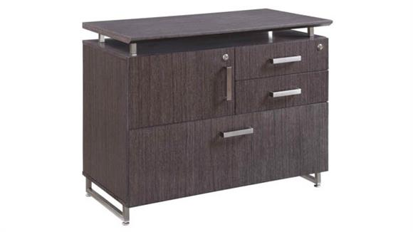 "Storage Cabinets Forward Furniture 36""W Lateral, Personal Storage Combo Cabinet"