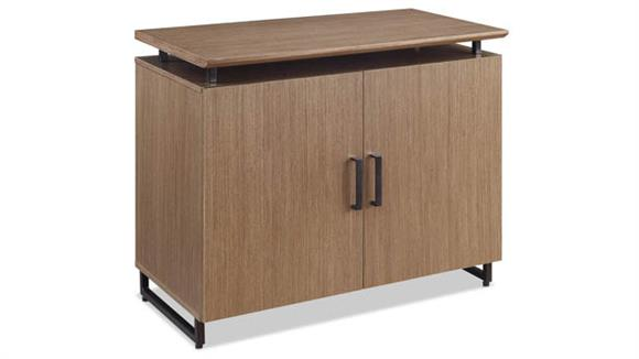 "Storage Cabinets Forward Furniture 36"" x 20"" Low Wall Storage Cabinet with Wood Doors"