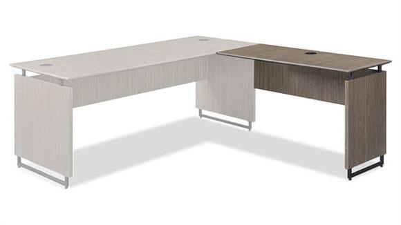 "Desk Parts & Accessories Forward Furniture 48""W x 20""D Reversible Desk Return"