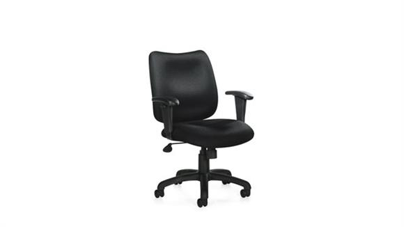 Office Chairs Offices to Go Tilter Chair with Adjustable Arms