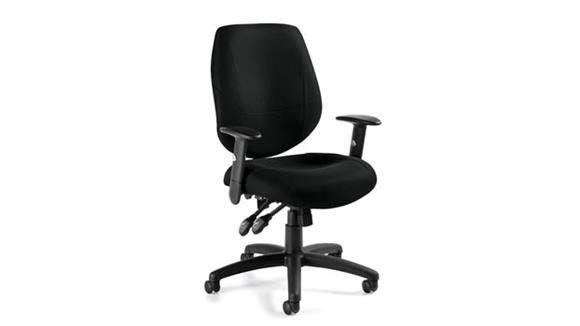 Office Chairs Offices to Go Ergonomic Chair with Adjustable Arms