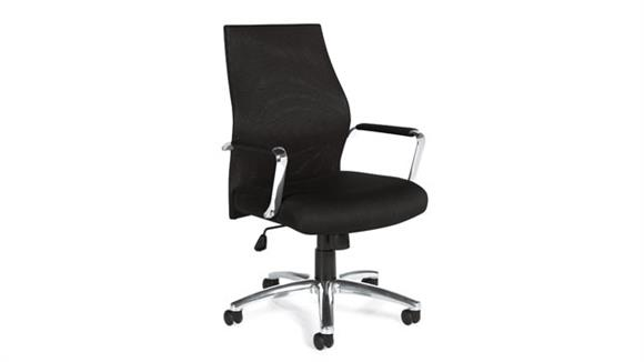 Office Chairs Offices to Go Mesh Back Managers Chair