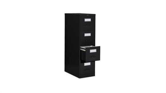 "File Cabinets Vertical Global 4 Drawer Legal Size Vertical File - 26-1/2""D"