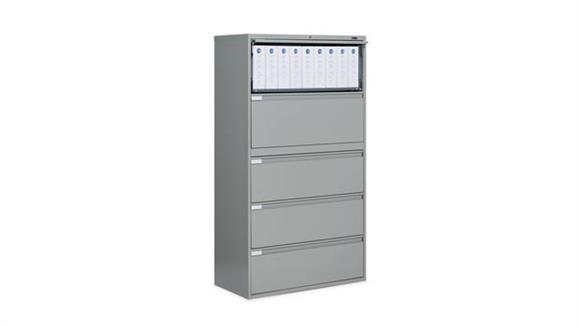 """File Cabinets Lateral Global 36""""W Five Drawer Lateral File"""