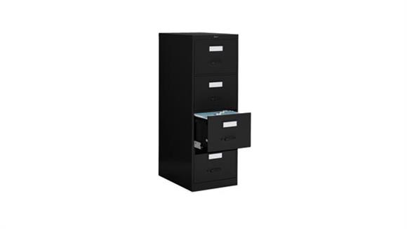 "File Cabinets Vertical Global 4 Drawer Legal Size Vertical File - 25""D"