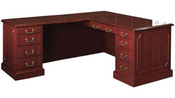 L Shaped Desks High Point Furniture Traditional L Shaped Desk