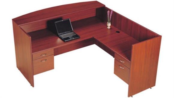 Reception Desks High Point Furniture L Shaped Reception Desk