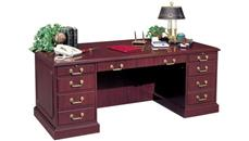 "Executive Desks High Point Furniture 72"" Double Pedestal Desk"