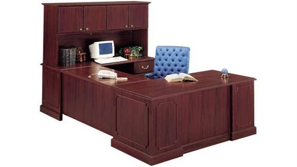 U Shaped Desks High Point Furniture U Shaped Desk with Hutch