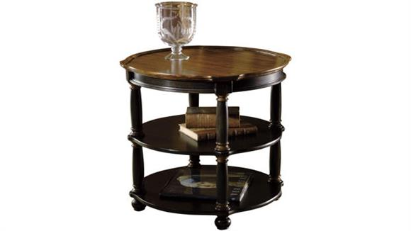 End Tables Hekman Furniture Round Library Table