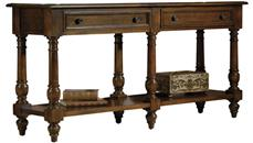 Console Tables Hekman Furniture Large Console Table
