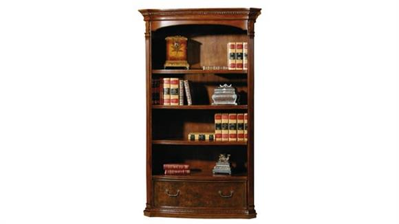 Bookcases Hekman Furniture Executive Bookcase with File Drawer
