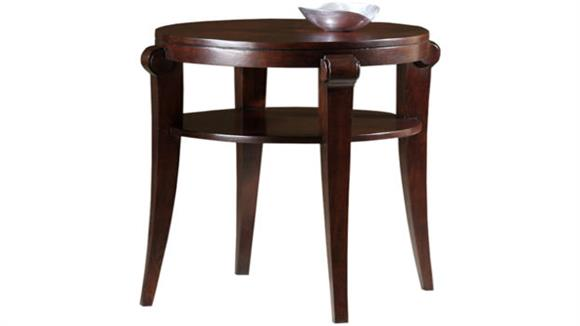 End Tables Hekman Furniture Solid Wood Round End Table