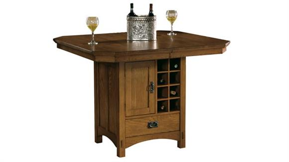 Pub & Bistro Tables Hekman Furniture Solid Wood Pub Table