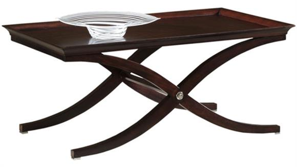 Coffee Tables Hekman Furniture Solid Wood Rectangular Cocktail Table