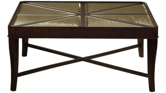 Coffee Tables Hekman Furniture Solid Wood Square Cocktail Table