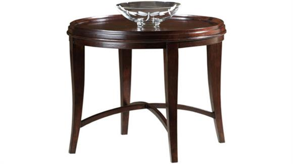 End Tables Hekman Furniture Solid Wood Round Lamp Table