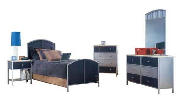 Bedroom Sets Hillsdale House Universal Youth 5 Piece Bedroom Set with Full Sized Bed