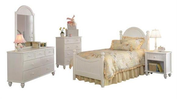Bedroom Sets Hillsdale House Westfield 5 Piece Bedroom Set with Twin Sized Bed