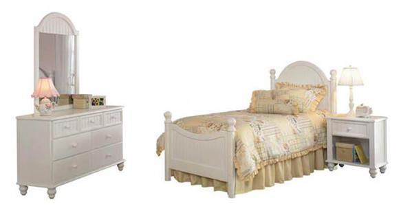 Bedroom Sets Hillsdale House Westfield 4 Piece Bedroom Set with Twin Sized Bed