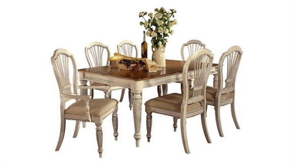 Dining Tables & Sets Hillsdale House Wilshire 5 Piece Rectangular Dining Set
