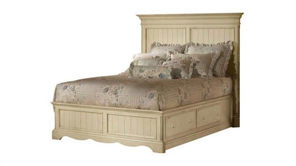 Queen Size Beds Hillsdale House Wilshire Panel Queen Bedset with Storage