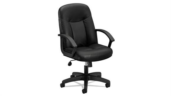 Office Chairs HON Leather High-Back Swivel/Tilt Chair