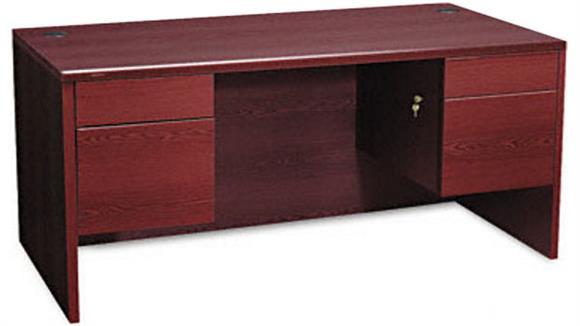 "Executive Desks HON 60"" Double Pedestal Desk"
