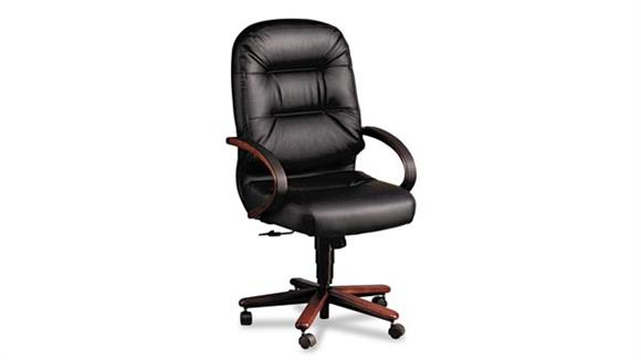 Office Chairs HON Leather High Back Executive Chair