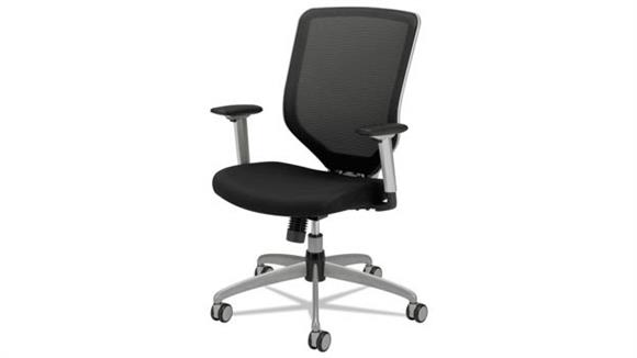 Office Chairs HON Padded Mesh High-Back Work Chair