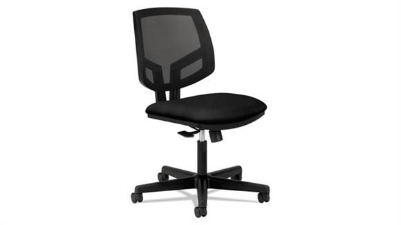 Office Chairs HON Mesh Back Leather Task Chair