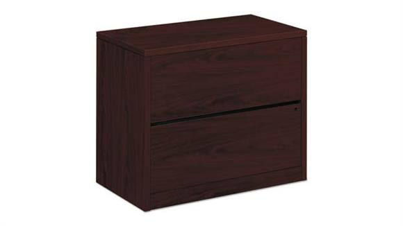 "File Cabinets Lateral HON 36""W x 20""D x 29-1/2""H Two-Drawer Lateral File"