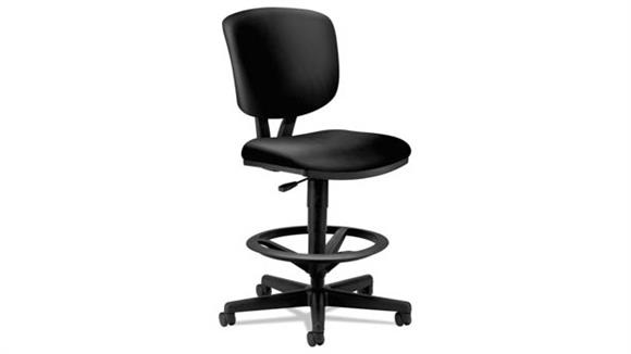 Office Chairs HON Adjustable Leather Task Stool