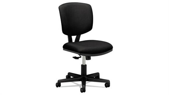 Office Chairs HON Leather Task Chair with Synchro-Tilt
