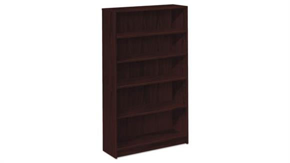"Bookcases HON 36""W x 13-1/8""D x 71""H Laminate Bookcase"