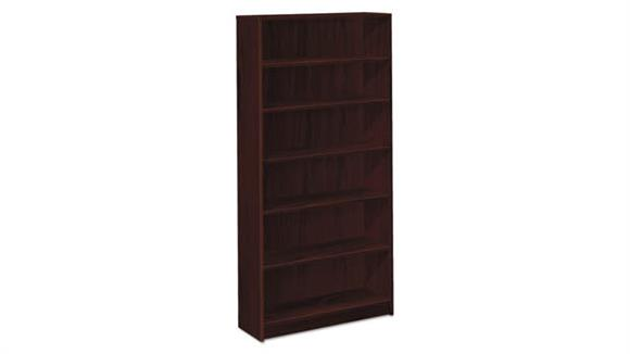 "Bookcases HON 36""W x 11 1/2""D x 72 5/8""H Six Shelf Bookcase"