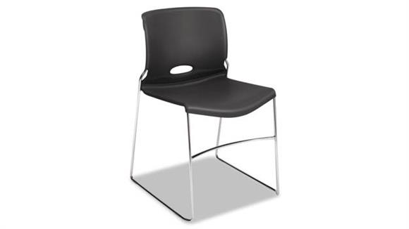 Side & Guest Chairs HON Stacking Chairs - 4/PK