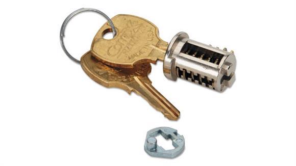Desk Parts & Accessories HON Removable Lock Core Replacement Kit