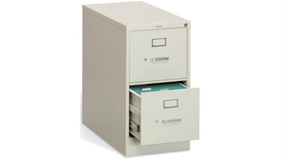 File Cabinets Vertical HON 2 Drawer Letter Size Vertical File