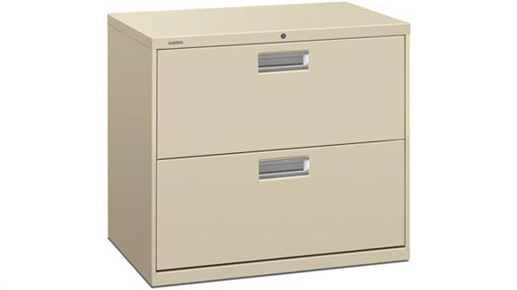 "File Cabinets Lateral HON 30""W 2 Drawer Lateral File"