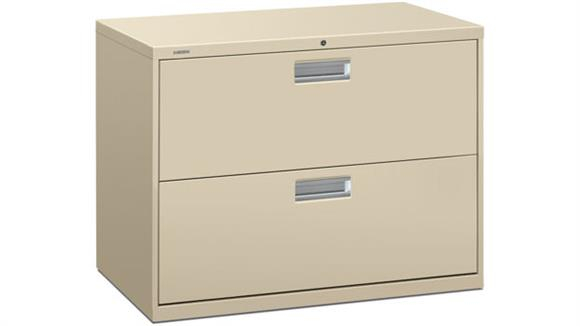 """File Cabinets Lateral HON 36"""" W 2 Drawer Lateral File"""