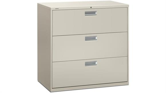"""File Cabinets Lateral HON 42"""" W 3 Drawer Lateral File"""