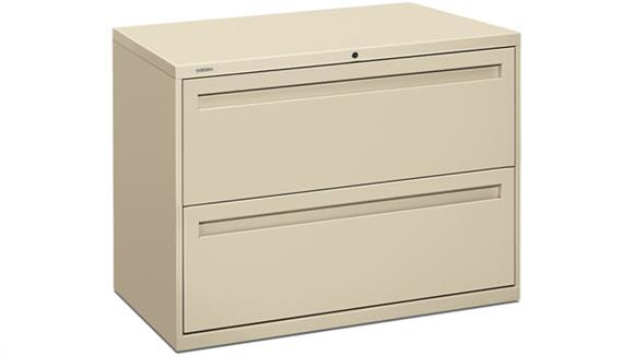 "File Cabinets Lateral HON 36""W 2 Drawer Lateral File"