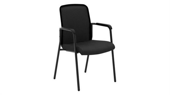 Stacking Chairs HON Mesh Back Multi-Purpose Chair with Arms