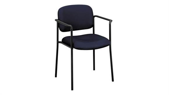 Stacking Chairs HON Stacking Guest Chair with Arms