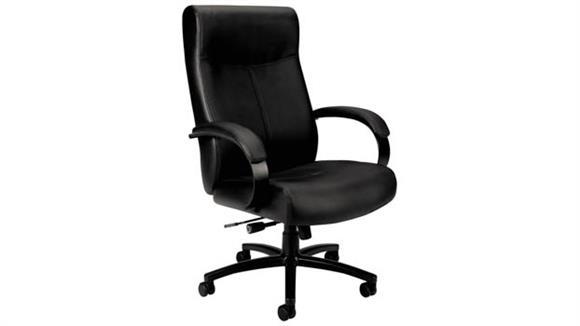 Big & Tall HON Big & Tall Leather Chair