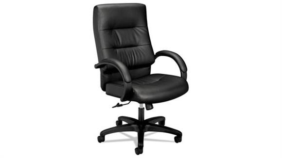 Office Chairs HON Executive High-Back Leather Chair