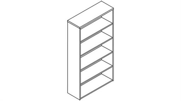 Bookcases HON Five Shelf Bookcase