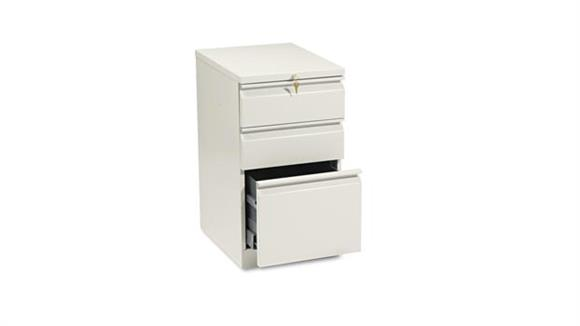 "Mobile File Cabinets HON 20""D Three Drawer Mobile File"